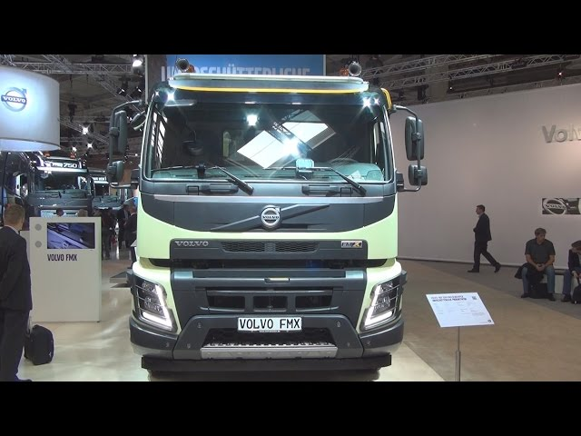 Volvo FMX 10x4 540 Tipper Truck Exterior and Interior in 3D 4K UHD