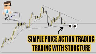 Simple Price Action Trade: Learn To Trade Forex With Structure!