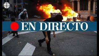 DIRECTO: PROTESTAS en BARCELONA