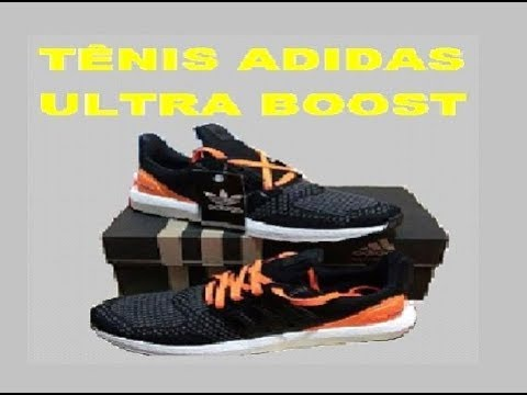 9834e6f22b6 RÉPLICA do Tênis Adidas ULTRA BOOST ENDLESS ENERGY - YouTube