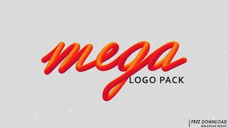 Free Mega Logo Pack | Best Logos 2019 Download [PSD]