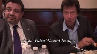 IMRAN KHAN with JAHEEL Reporter for GEOTV Azeeat Mian  in Toronto, Mississauga