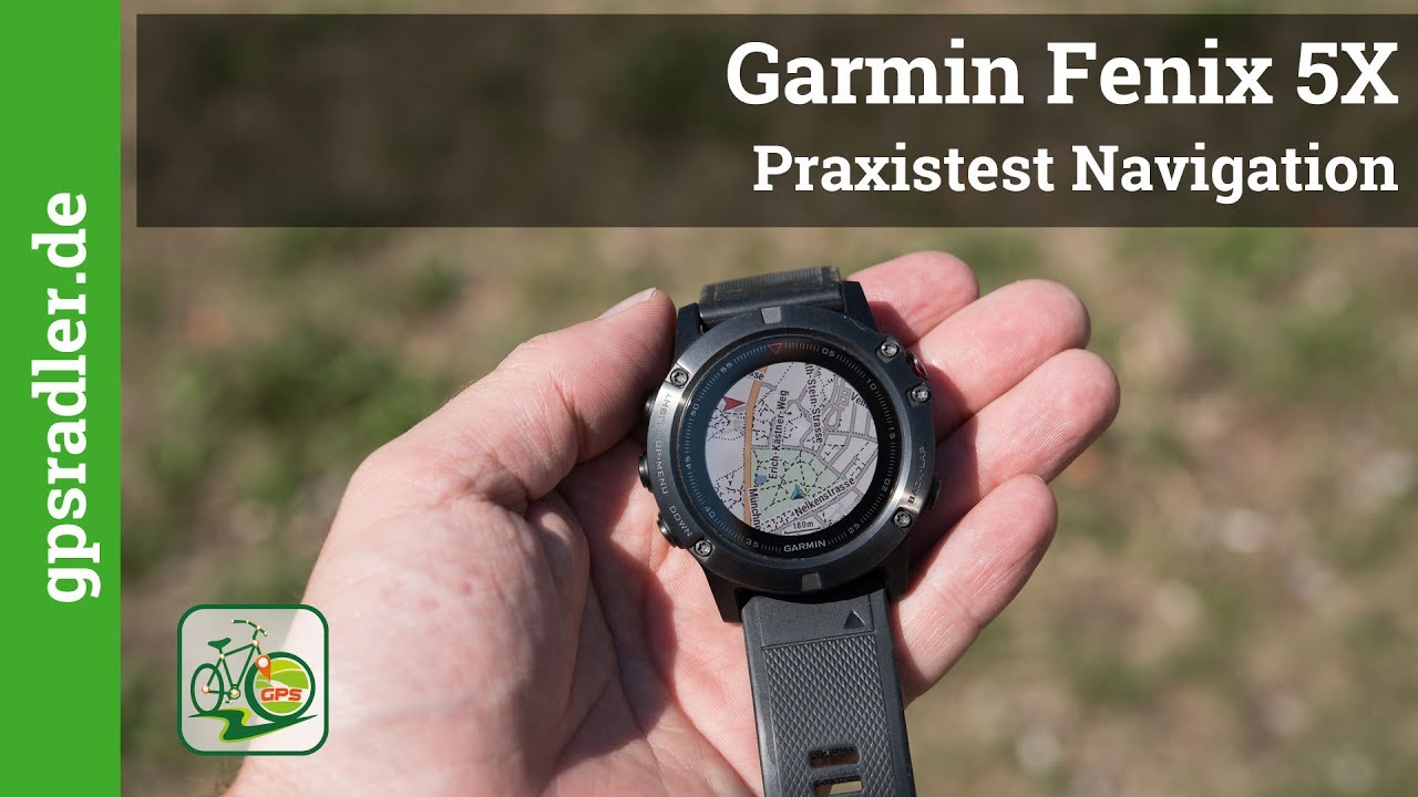 garmin fenix 5x navigation mit der smartwatch youtube. Black Bedroom Furniture Sets. Home Design Ideas
