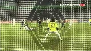 Three Owngoals - Borussia M'Gladbach  5 -  3 Hannover 96