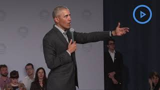 Obama hails youth climate protests in Berlin