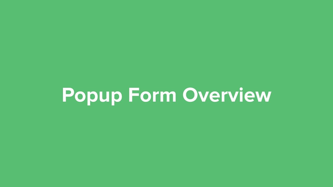 Pop-up Examples and Types: How to grow subscribers effectively