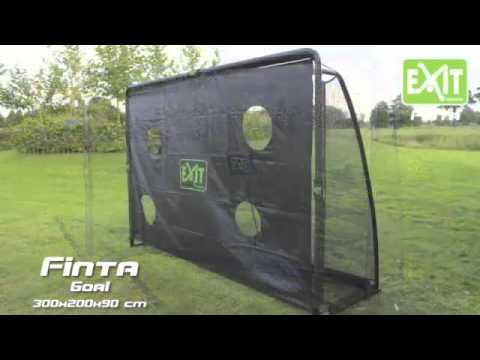 Футбольные ворота Финта с тренировочным экраном, 80013 Exit, Игроландия