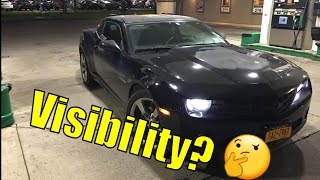 How bad is the Camaro Visibility? | Camaro Blind Spots