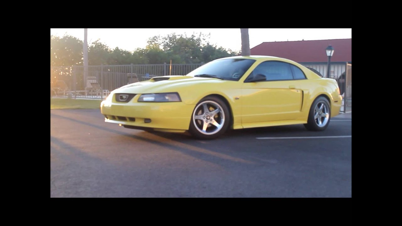 lowered lifestyle Mustang GT - YouTube  lowered lifesty...