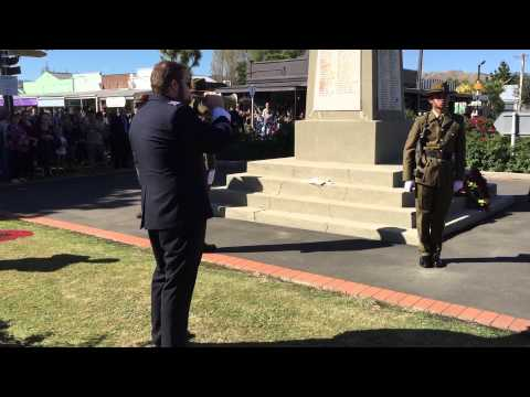 Last Post and Rouse - ANZAC Day 2015
