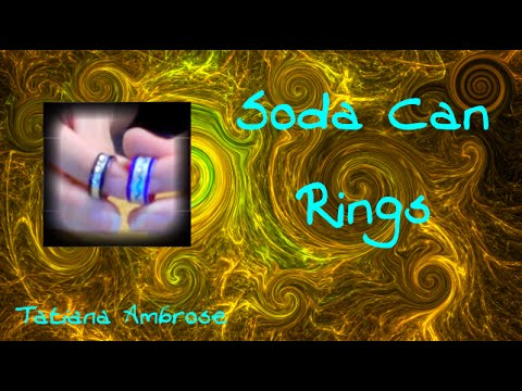 Creative Craft: DIY Soda Can Ring Craft Tutorial