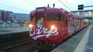 鉄道動画(JR西日本・115系)