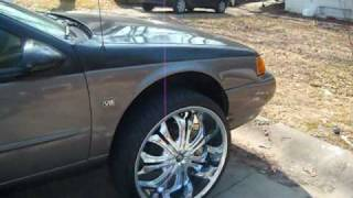 1995 Ford Thunderbird On 24s