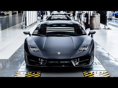 Lamborghini Manufacturing – The Dream Car Factory