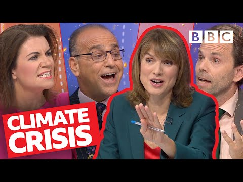 Should climate change activists be applauded or arrested? | Question Time - BBC