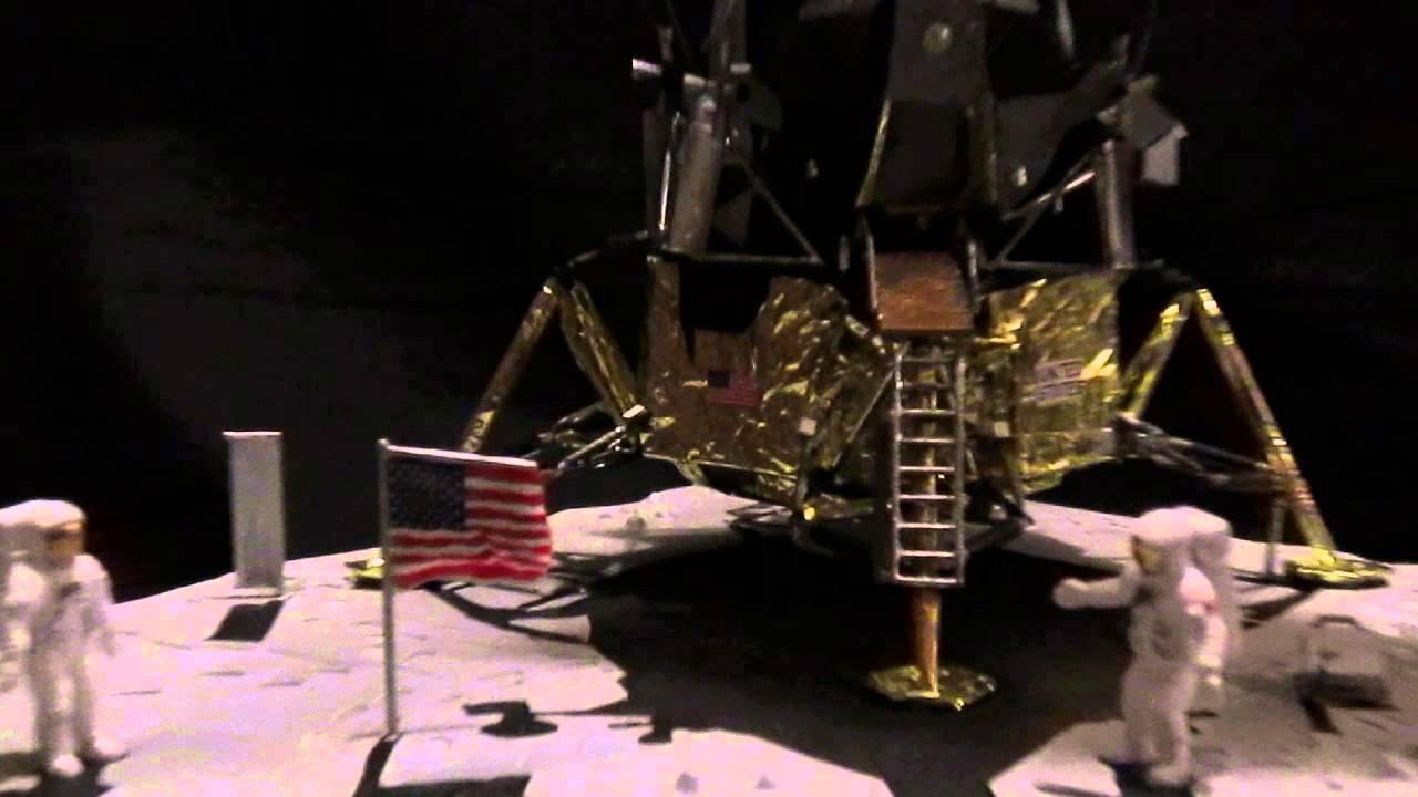 monogram   revell first lunar landing plus new ware upgrade kit