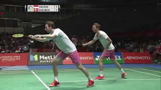 Video Daihatsu Yonex Japan Open 2017 | Badminton SF M5-MD | Gid/Suk vs Boe/Mog download MP3, 3GP, MP4, WEBM, AVI, FLV Mei 2018