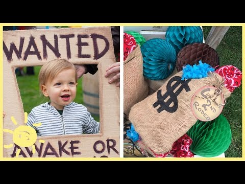 DIY | Easy Party Decor (Lincoln's Birthday!!)