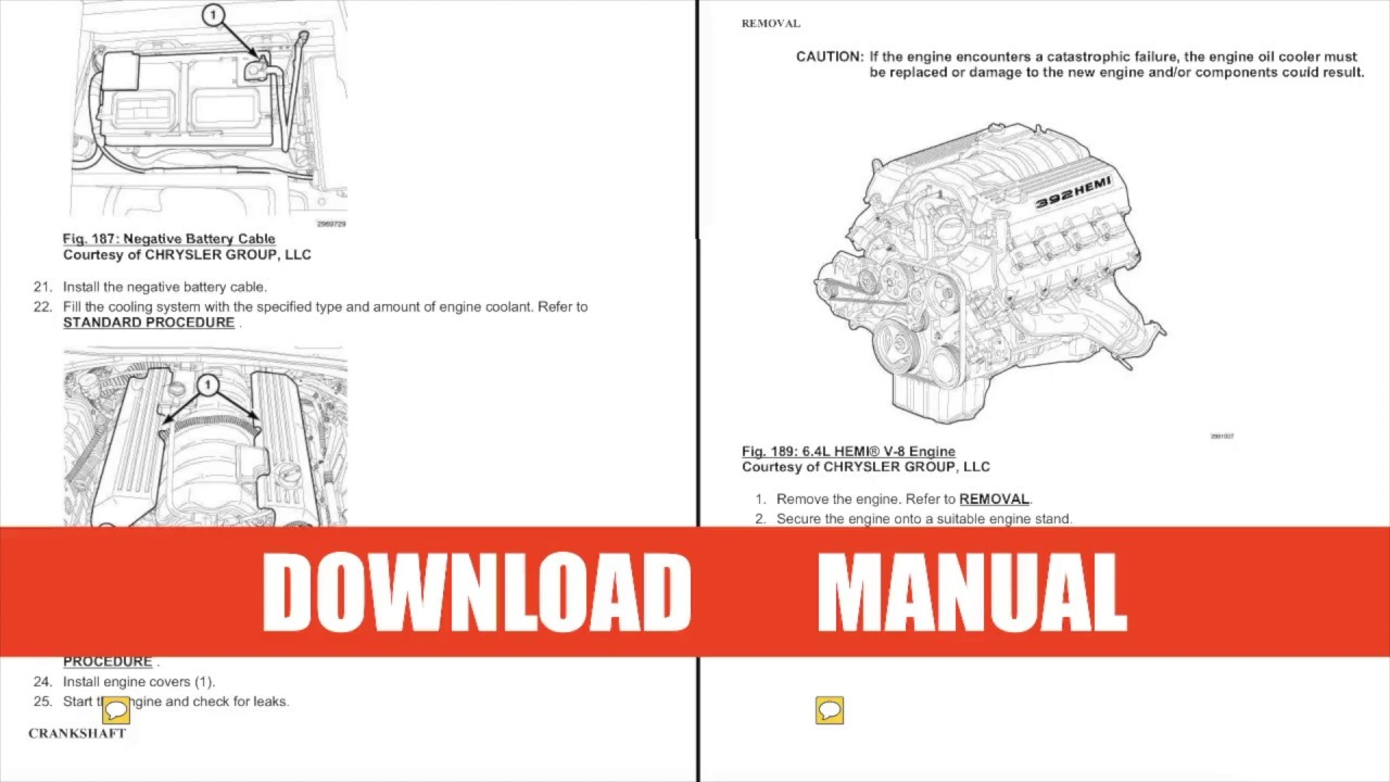 [SCHEMATICS_48YU]  Dodge Challenger Repair Manual 2011-2014 DOWNLOAD - YouTube | Dodge Hellcat Engine Diagram |  | YouTube