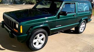 SOLD 1999 Jeep Cherokee For Sale 86k Original Miles  4x4 5 Speed 2.5 4 cyl. 9188076665