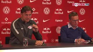 RB Leipzig: PK vor dem Spiel gegen Borussia Mönchengladbach