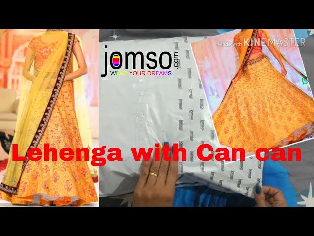 Buy Designer Sequence lehenga from jomso  jomso lehenga review online Lehenga Shopping with Price
