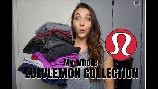 LULULEMON COLLECTION TRY ON