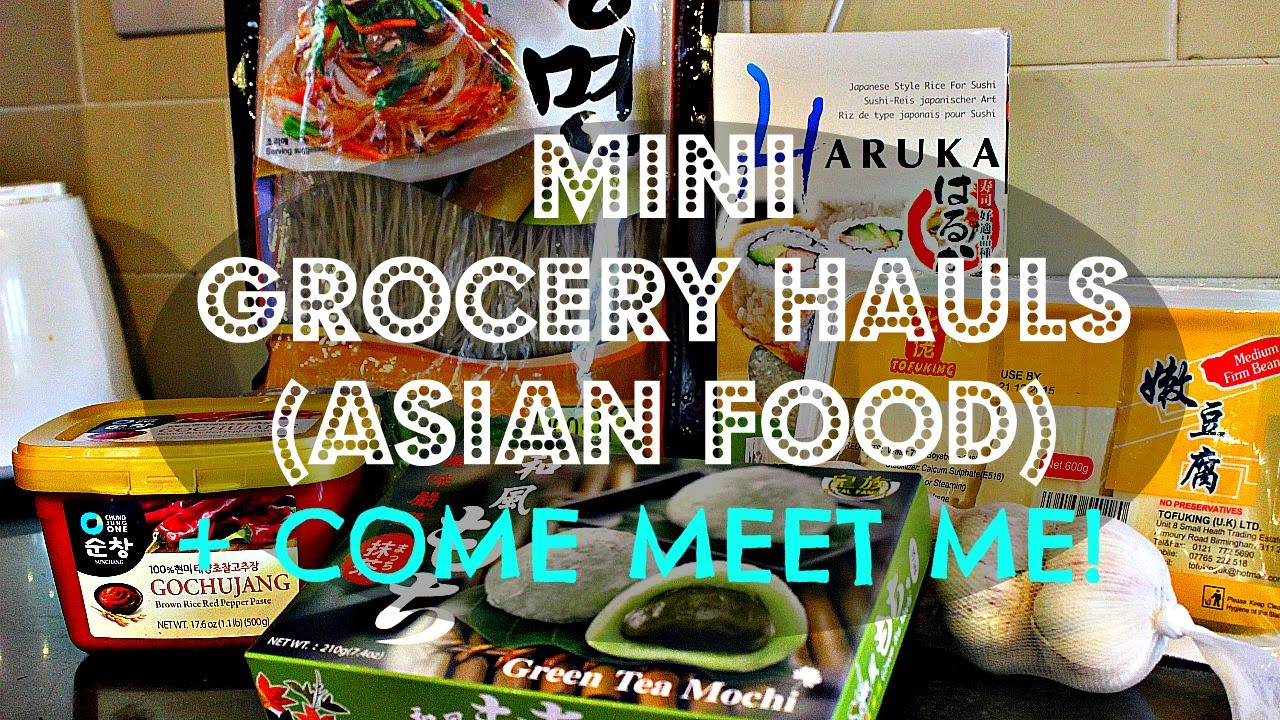 ASIAN VEGAN GROCERY HAUL + MEETUP ANNOUNCEMENT ♥ Cheap Lazy Vegan