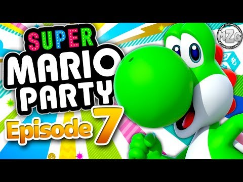 Super Mario Party Gameplay Walkthrough - Episode 7 - River Survival Completed! Yoshi! (Switch)