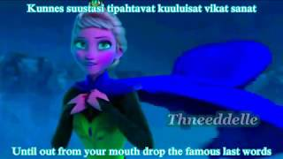 Aqua!Elsa sings Jacuzzi