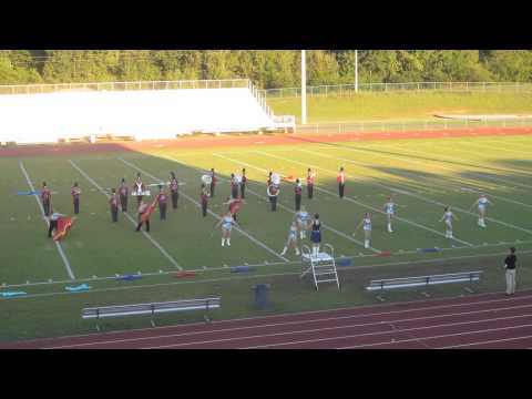 Pickens Academy Marching Band - Crimson Cavalcade, September 23, 2014