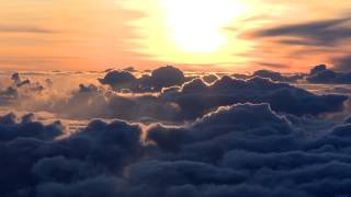 Above the clouds sunrise timelapse
