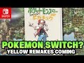 Pokémon Switch LEAKS! Pokémon Let's Go Pikachu & Let's Go Eevee HINTED BY MASUDA!