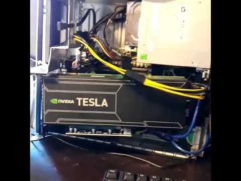Crypto Mining W/ Nvidia Tesla K20x