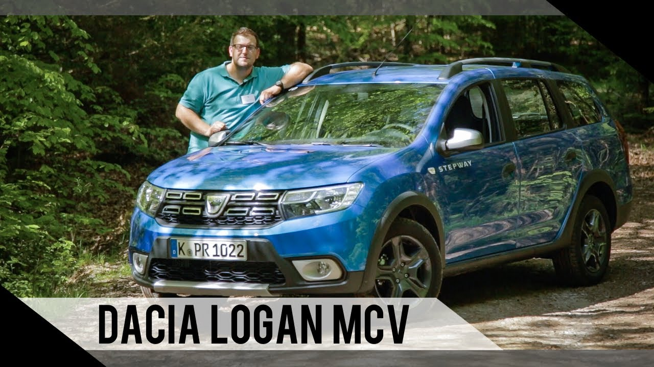 dacia logan mcv stepway 2017 test review fahrbericht motorwoche youtube. Black Bedroom Furniture Sets. Home Design Ideas