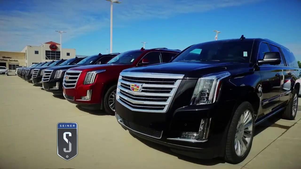 Jerry Seiner Cadillac TV Ad December 2016