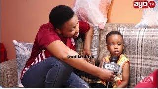 Download Video Mtoto aliyemuimbia Kagere apewe raha azungumza, haipendi Yanga Mama afunguka MP3 3GP MP4
