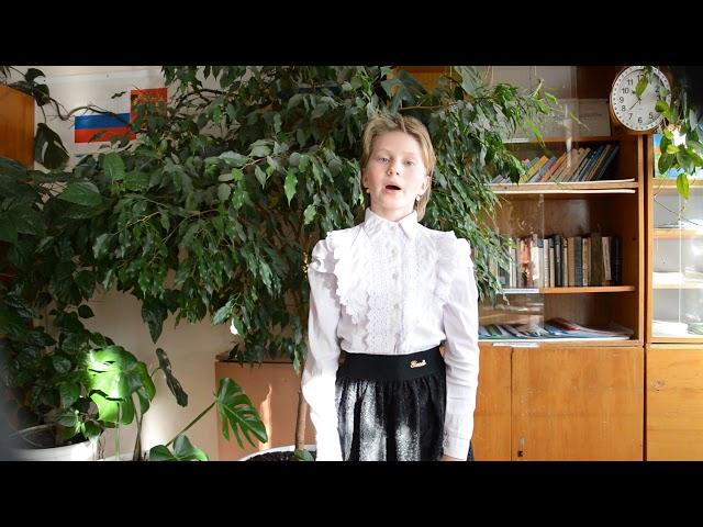 Изображение предпросмотра прочтения – ЕкатеринаШунина читает произведение «Тихая моя родина» Н.М.Рубцова