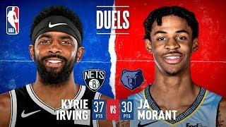 Kyrie Irving, Ja Morant Put On Scoring Duel in Memphis | Oct. 27, 2019