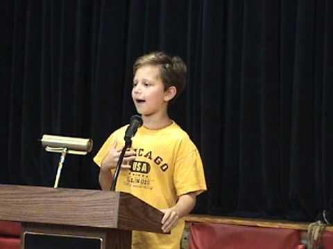 Andrew Elementary School VP Speech