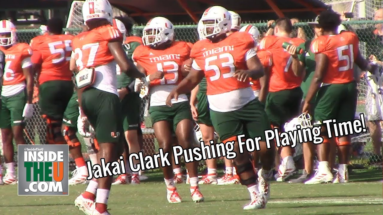 Miami Hurricanes make changes on the offensive line for ACC opener at UNC