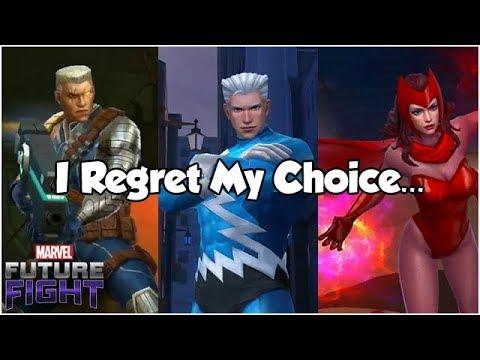 I Regret My Choice... - Marvel Future Fight
