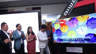Japan's AIWA re-enters Indian market, launches 75-inch 4K Smart TV, Home Audio and more