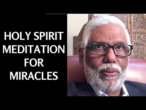 Holy Spirit Meditation Video For Miracles
