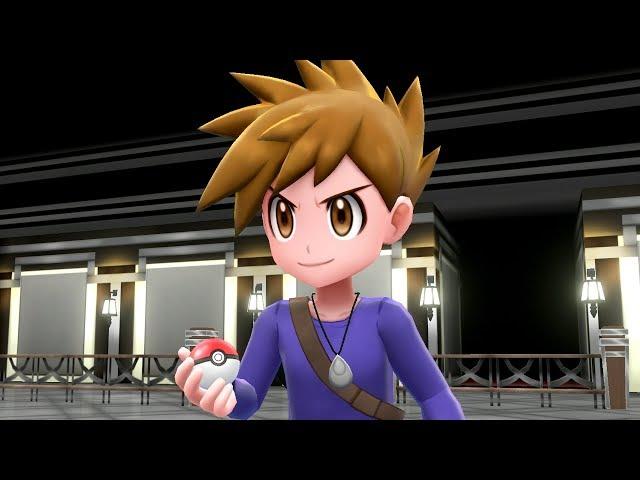 Pokemon Let's Go Pikachu & Eevee - Trainer Blue Battle