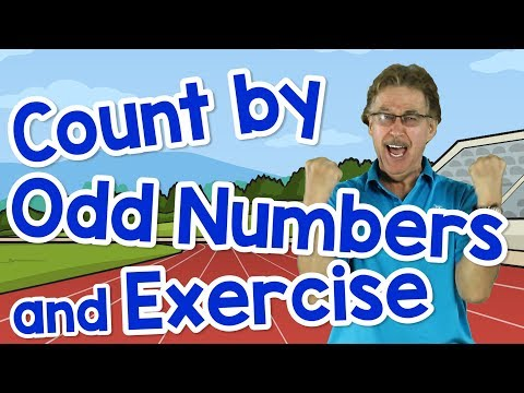 Count By Odd Numbers & Exercise | Counting Song For Kids | Skip Counting Odd Numbers | Jack Hartmann