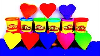 Happy Valentine's Day! Play Doh Hearts Thomas and Friends Peppa Pig Cars 2 Kinder Surprise Eggs