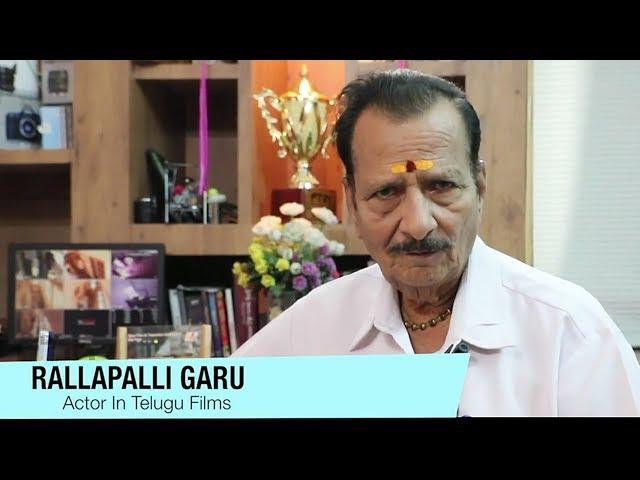 Actor Rallapalli Passes Away