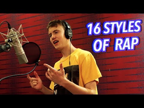 16 Styles of Rapping! (J Cole, Mac Miller, Lil Peep, Eminem)