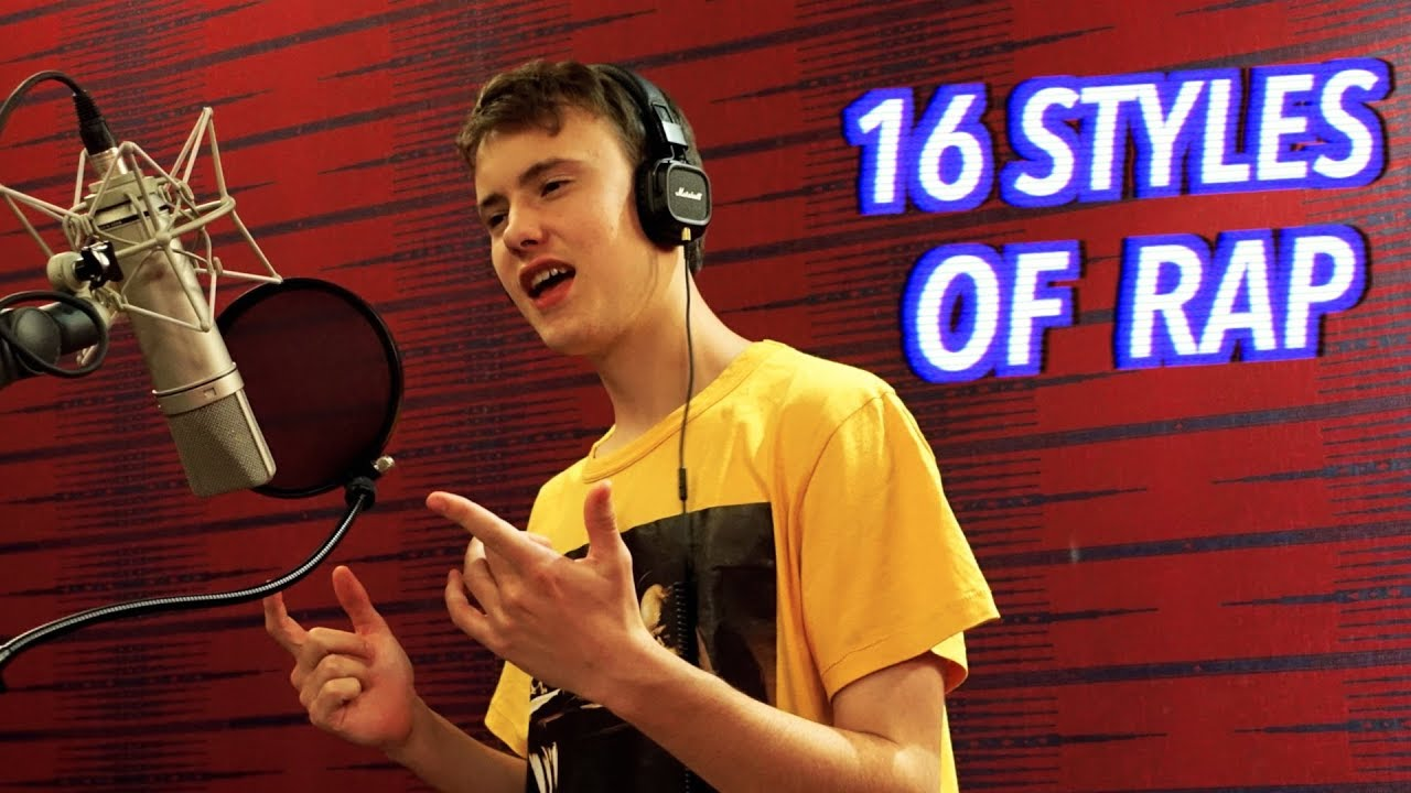 Download 16 Styles of Rapping! (J Cole, Mac Miller, Lil Peep, Eminem)